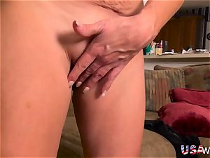 USAwives Penny Priet incredible Solo have fun porn movie