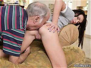 elder grandfather jizm shot dame creampie railing the aged manmeat!