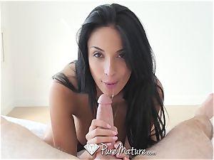 PureMature mummy Anissa Kate assfuck ravage and creampie