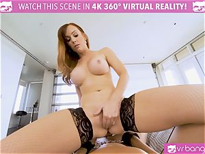 VRBangers.com big-boobed mummy manager punishes her employee