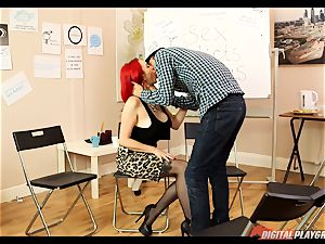 fuck-fest addicts anonymous gets a bit molten with Jasmine James and Danny D