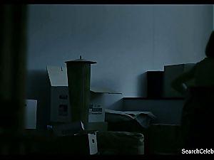 sensual Sandra Huller getting bare on film