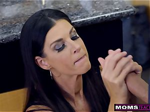 mom penetrates sonny And tongues internal cumshot For Thanksgiving handle
