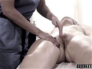 pure TABOO school woman Duped 2 fucking massagist duo