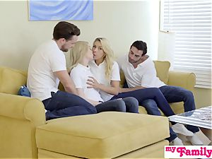 StepSiblings fucky-fucky In Front Of mommy - MyFamilyPies S3:E4