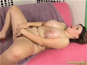 bbw mummy with oiled monster juggs