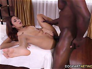 Jade Jantzen attempts big black cock assfuck For The very first Time