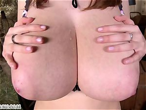 plus-size. Lucie Wilde - You want my big all-natural orbs?