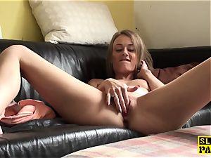 splooging gimp mega-slut punished for faking climax