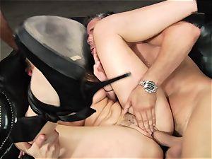 Dani Daniels gets her hot slit filled with rock-hard jizz-shotgun