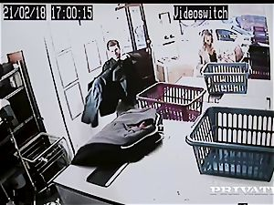 Private.com - Mia Malkova gets plowed in the laundry