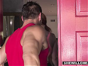 SheWillCheat - scorching bootylicious wife pummeling individual Trainer