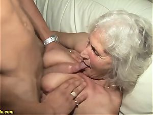 75 years aged grandma first porn video