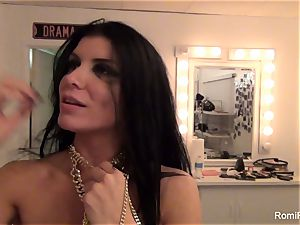 Behind the episodes with stunning porn industry star Romi Rain