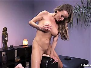greased super-sexy huge-titted honey humps machine