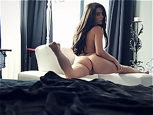 youthfull pornstar Lana Rhoades is awesome
