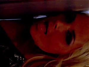 Sarah Vandella unsheathes her purrfectly lush bosoms