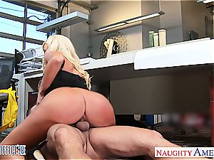 Summer Brielle at the office down for a great orgy