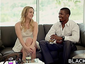 BLACKED cool student Marley Matthews And black Producer