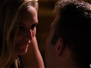 Mona Wales has a romantic love session with her magnificent guy