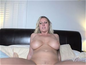 Devon Lee gets herself drilled just the way she luvs before getting gooed