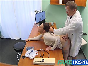 FakeHospital doc gets gorgeous patients muff moist