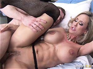 Rock rigid patient gets banged by doctor Brandi enjoy