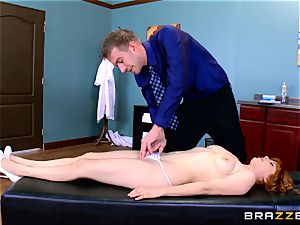 Patient Penny Pax fucked by thick dicked physician