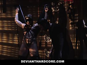 DeviantHardcore -whorish teen restrain bondage poked By Stranger