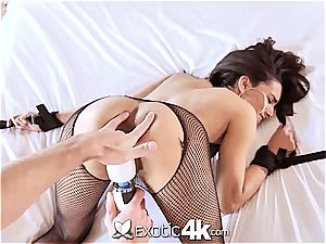Exotic4k brazilian Adrian Hush corded up tear up and internal cumshot