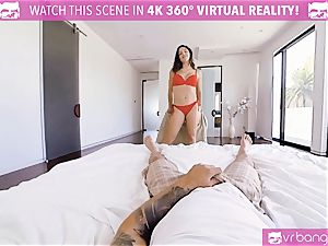 VR porn - big-titted Abella Danger casting couch get super-naughty