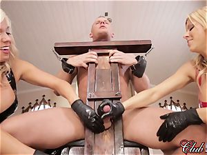 spunky Ms. Alexis Fawx dominates her new subordinated