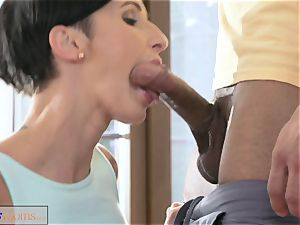 fitness apartments giant manmeat workout for babe after class lovemaking