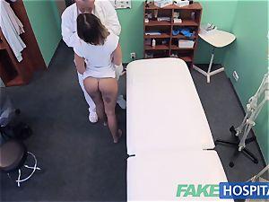 FakeHospital petite euro patient climaxes vulva fluid