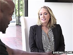 sugary-sweet Kagney finding a true dick to pummel her