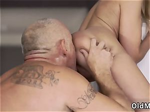 elderly russian granny his jizz-shotgun was so rock-hard because of Summer s figure and her