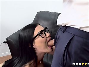 spear gasping british stunner Jasmine Jae boinked in her ass