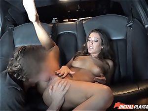 Eva Lovia picks up studs off the street to bang