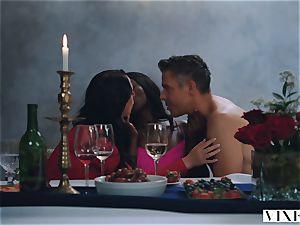 VIXEN Tori ebony In The hottest hookup Ever Filmed